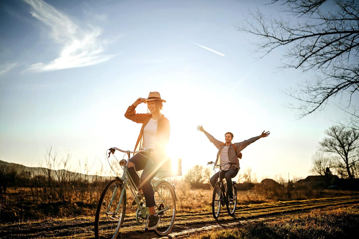 Die positive Wirkung des Radfahrens